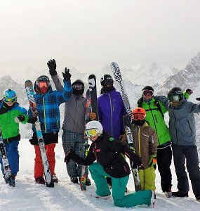 Steasy Team Freeski freestyleski