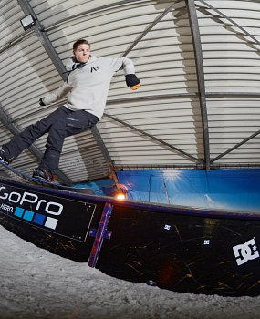 Menno Kicken freestyle snowboard